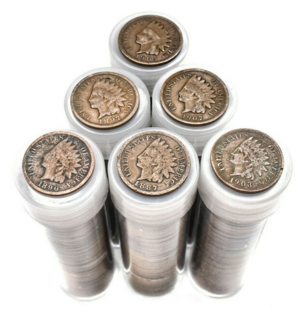 1859 1909 Indian Head Cent Roll Of 50 Bullion Shark,4 Prong Dryer Cord To 3 Prong