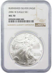 Will the U.S. Mint Stop Making Burnished Silver Eagles in 2021?