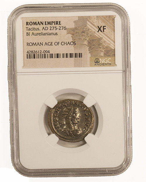 Roman Billon ANT  of Tacitus (AD275-276) NGC (XF)