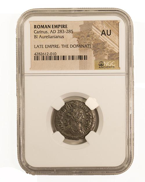 Roman Billon ANT of Carinus (CE283-285)NGC (AU)