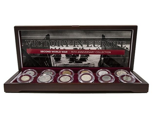 Victory in Europe: 75th Anniversary Collection (12 Coin Boxed Set)