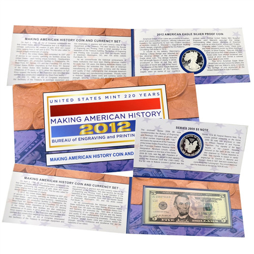2012 Making American History Coin & Currency Collection