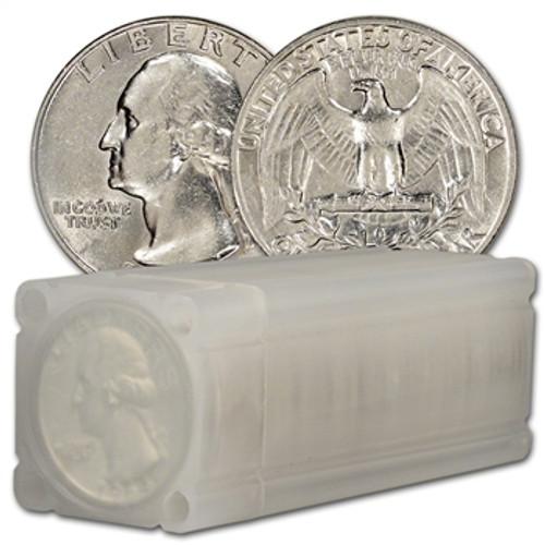 90% Silver Washington Quarter GEM Brilliant Uncirculated - Roll of 40