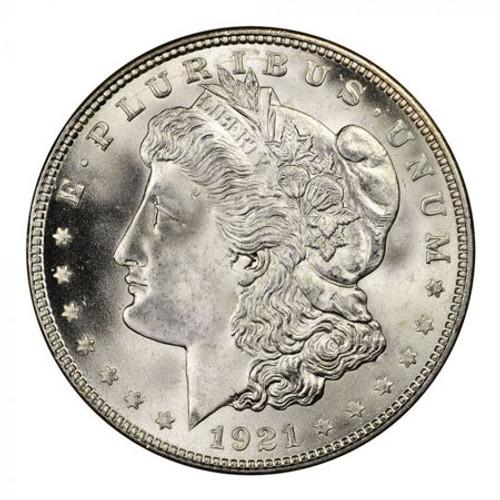 1921-P Morgan Silver Dollar Brilliant Uncirculated - BU