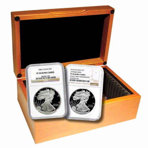 1986-2020 Complete Silver Eagle Set NGC PF70 UCAM