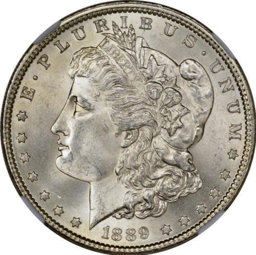 1889 Morgan Silver Dollar Brilliant Uncirculated - BU