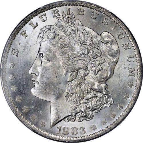 1883-O Morgan Silver Dollar Brilliant Uncirculated - BU (New Orleans)