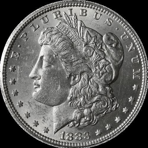 1883-P Morgan Silver Dollar Brilliant Uncirculated - BU