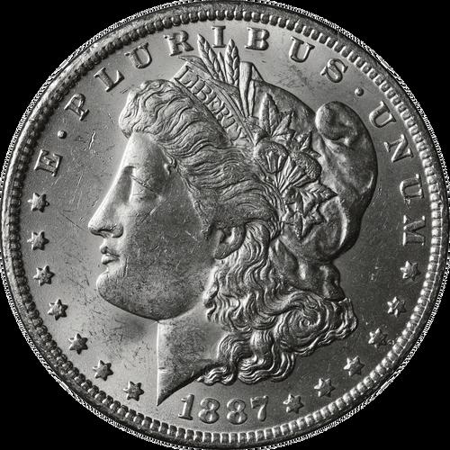 1887-O Morgan Silver Dollar Brilliant Uncirculated - BU
