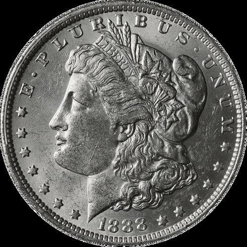 1888-O Morgan Silver Dollar Brilliant Uncirculated - BU