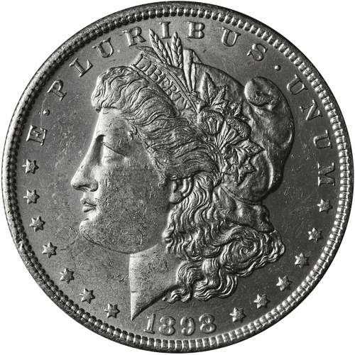 1898-S Morgan Silver Dollar Brilliant Uncirculated - BU