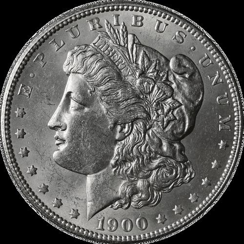 1900-P Morgan Silver Dollar Brilliant Uncirculated - BU