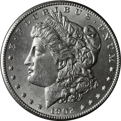 1902-P Morgan Silver Dollar Brilliant Uncirculated - BU