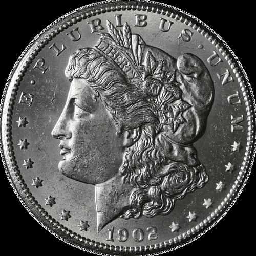 1902-S Morgan Silver Dollar Brilliant Uncirculated - BU