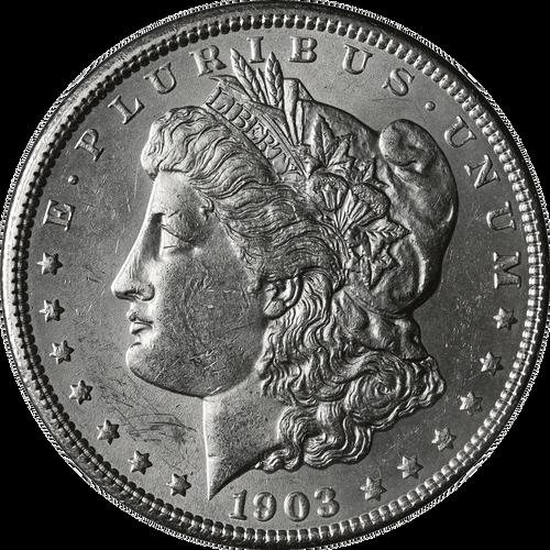 1903-O Morgan Silver Dollar Brilliant Uncirulated - BU