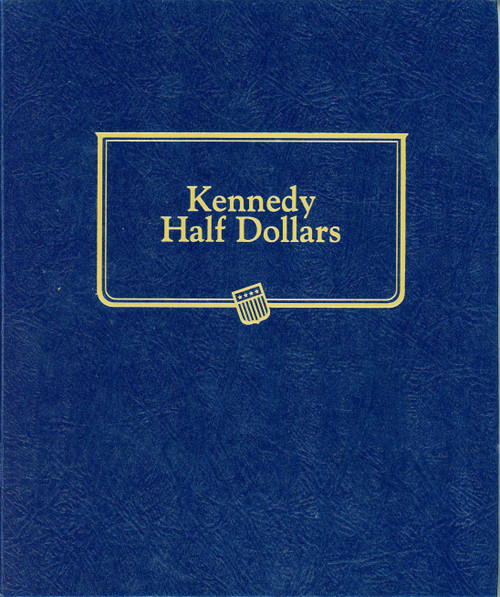 1964-2019 Complete Kennedy Half Dollar Set in Whitman Album (Uncirculated) - 104 Coins