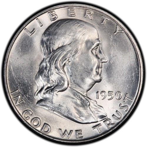 1950-P Franklin Half Dollar BU