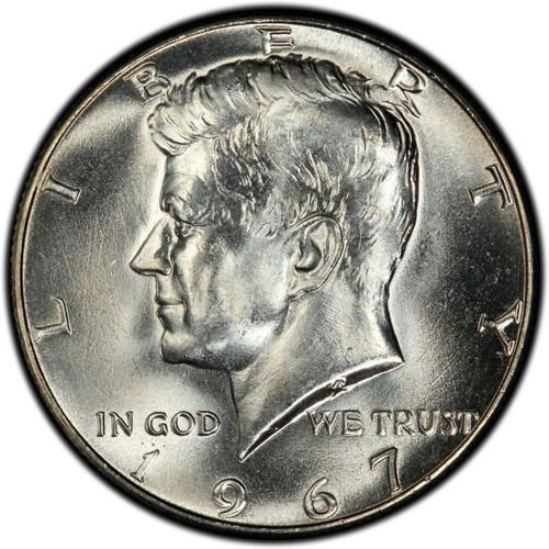 1967 Kennedy Half Dollar Roll Brilliant Uncirculated - BU (20 Coins)
