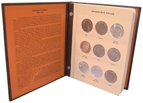 Complete 1971-1978 Eisenhower Dollar Set (32 coins) - Choice BU/Proof