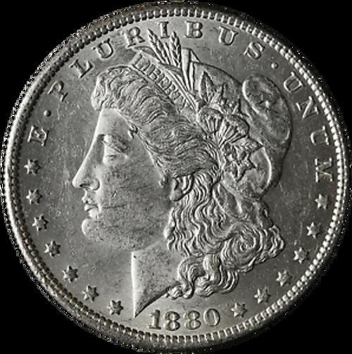 1880-O Morgan Silver Dollar Brilliant Uncirculated - BU