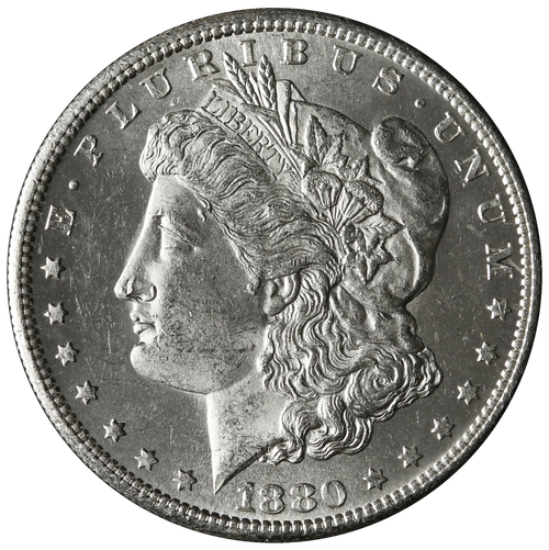 1880-S Morgan Silver Dollar Brilliant Uncirculated -BU