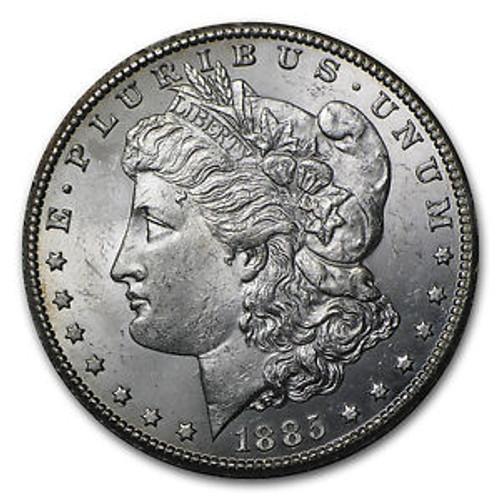 1885-CC Morgan Silver Dollar Brilliant Uncirculated - BU