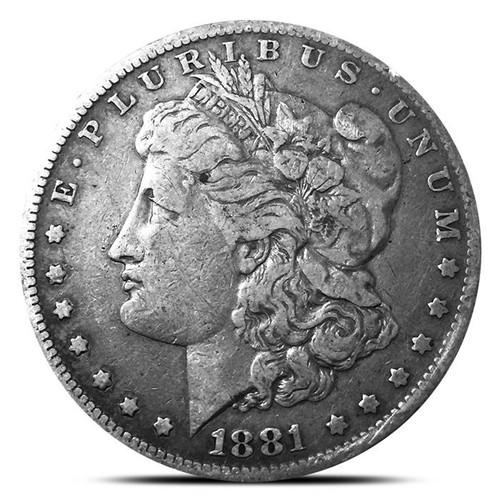 Pre-1921 Morgan Silver Dollar Circulated VG-XF - (Mixed Dates)