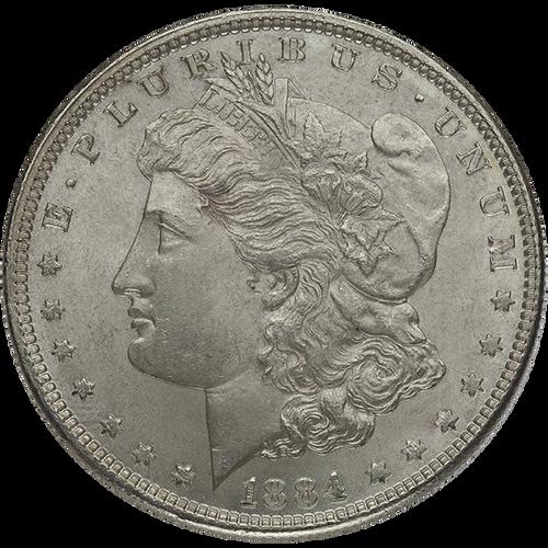 Pre-21 Morgan Silver Dollar Almost Uncirculated - AU