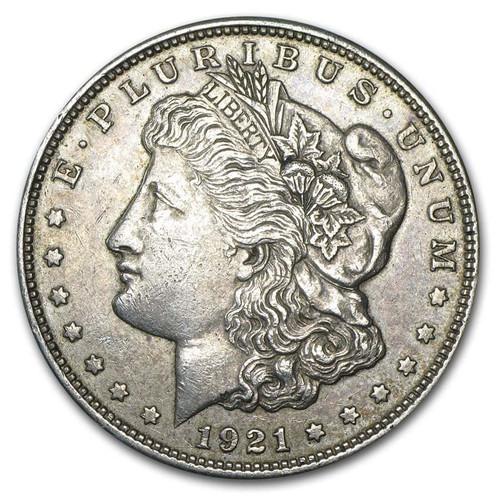 1921 Morgan Silver Dollar Circulated - VG-XF