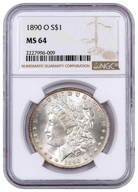 Pre-21 Morgan Silver Dollar NGC MS64