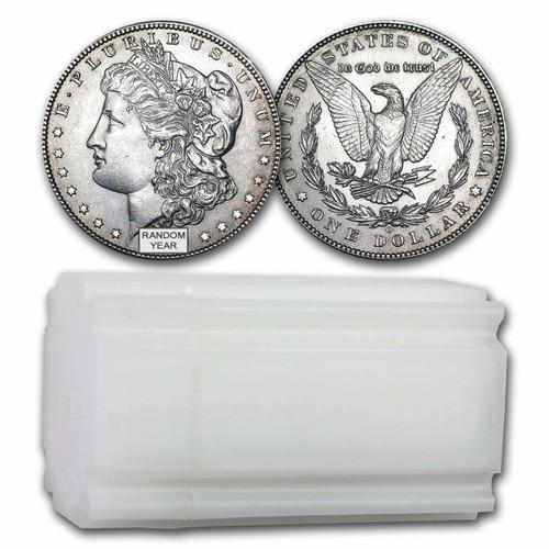 Pre-1921 Morgan Silver Dollar  AU (Roll of 20)