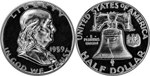 1959 Franklin Half Dollar Choice Proof