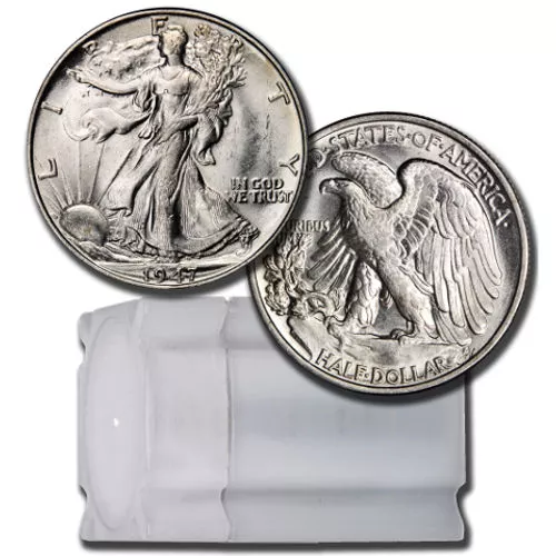 1916-1947 Walking Liberty Half Dollar AU/BU (Roll of 20)