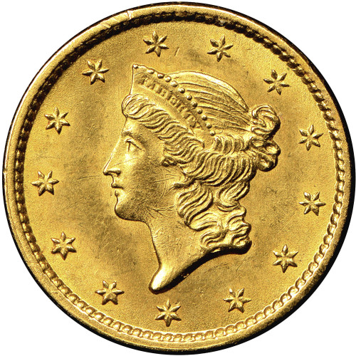 $1 Gold Liberty Brilliant Uncirculated - BU - Random Date
