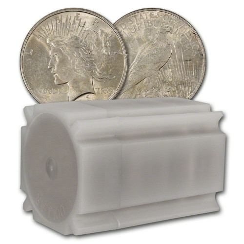 Peace Dollars Almost Uncirculated - AU (Mixed Years, 20-Count Roll)