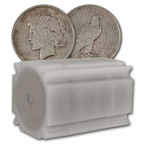 Peace Dollars Circulated (Mixed Years, 20-Count Roll)