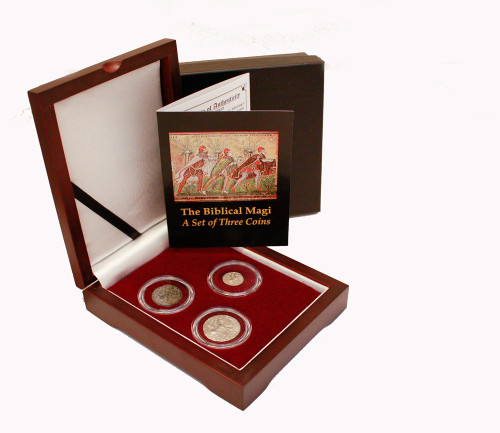 Journey of the Magi: 3 Coins from the Biblical Holy Land Box