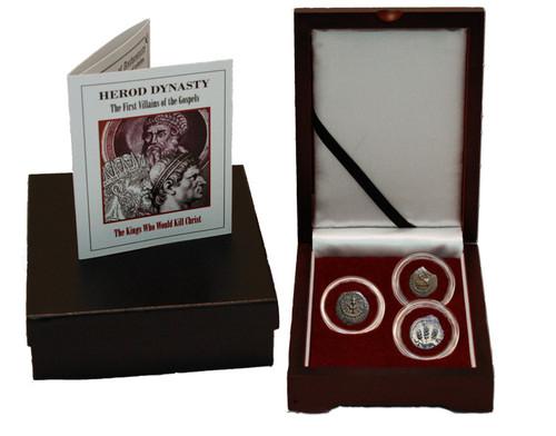 Judaea AE Herod Dynasty Box: The First Villains of the Gospels