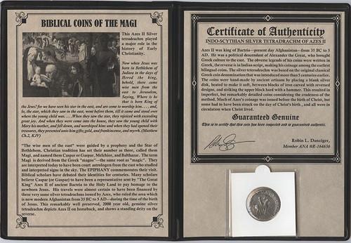 Journey of the Magi Album: Silver Tetradrachm