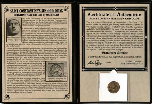 Constantine the Great: Sun God Album