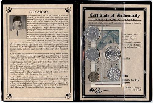 Sukarno: Dictator Of Indonesia Album (U)