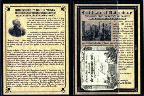 French Revolution: Maximilien Robespierre Album