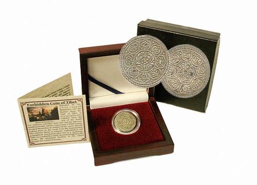 Tibet : The Silver Ga-Den Tangka Box