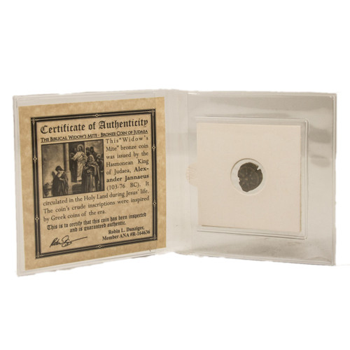 Widow's Mite Bronze Prutah Coin Mini Album (A)(High Grade)