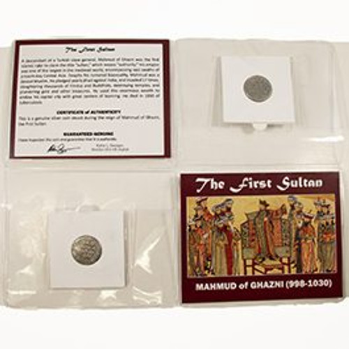 The First Sultan: Mid-Sized Album of Silver Coin of Mahmud of Ghazni (998-1030)
