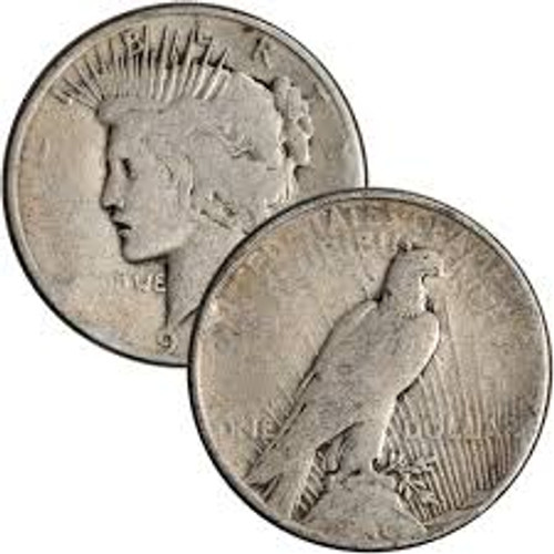 1921-1935 Peace Dollar - Cull