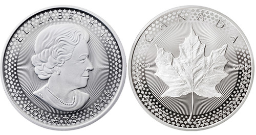 2019 $5 Canadian Maple Leaf - Modified Proof