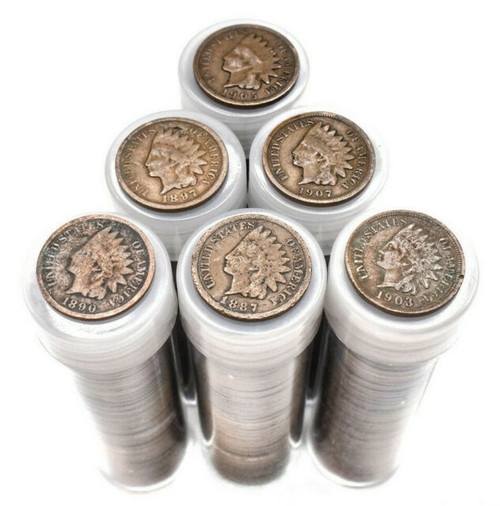 1859-1909 Indian Head Cent (Roll of 50)