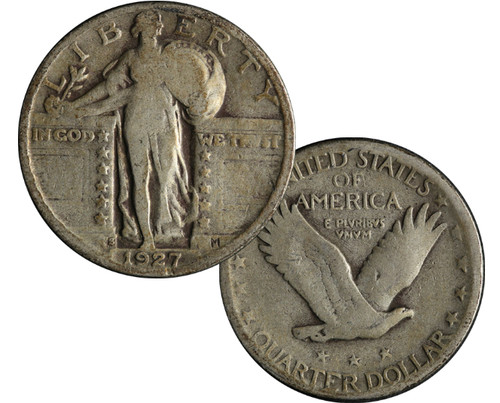1916-1930 Standing Liberty Quarter - The Scandalous Coin