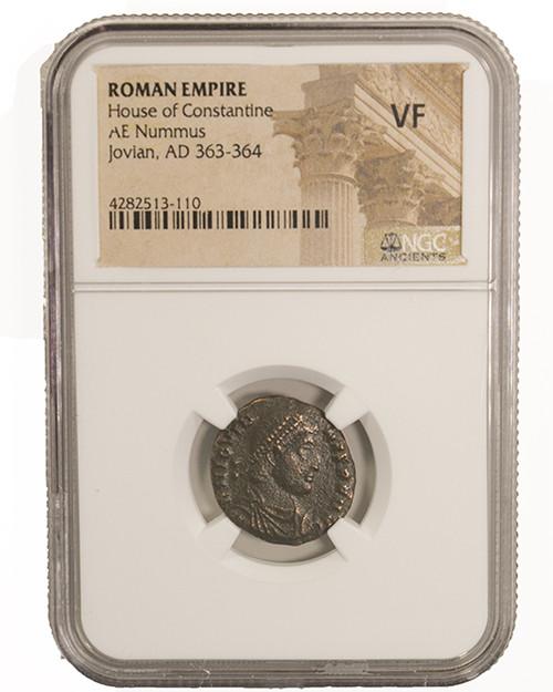 Roman AE of Jovian (363-364) NGC (VF)